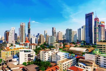View of downtown Bangkok