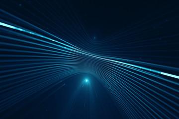 Obraz Abstract science fiction futuristic background - fototapety do salonu
