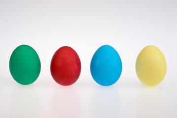 Four easter eggs