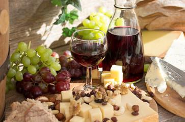 Weingenuss im Sommer