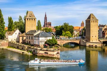 Gedeckten Brücken (Ponts couverts), Straßburg