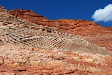Lines at The Coyote Buttes
