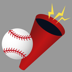 Baseball Megaphone