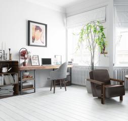 Möbliertes Wohnzimmer (Focus)