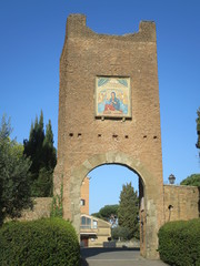 Roma Santuario della Madonna del Divino Amore