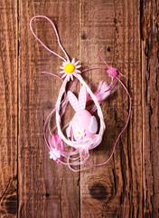 Uova di Pasqua rosa