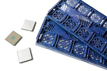 AMD CPU. Original packing of AMD processors