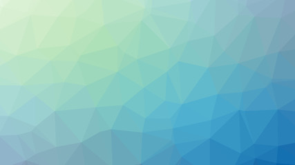 Light blue abstract low poly style illustration graphic background