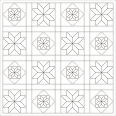 design pages for coloring books, vector.