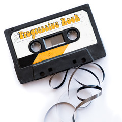 progressive rock musical genres audio tape label
