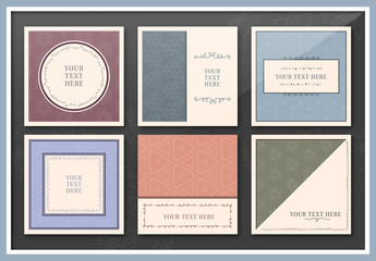 9 Elegant Square Flyer Layouts for Social Media