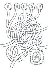 Labyrinth Ostern