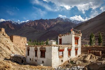 Tibetian house in Himalayas