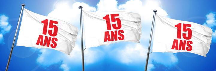 15 years, 3D rendering, triple flags