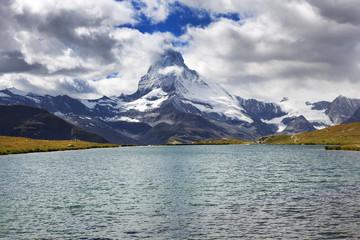 Stelliesee Lake, Matterhorn, Zermatt, switzerland