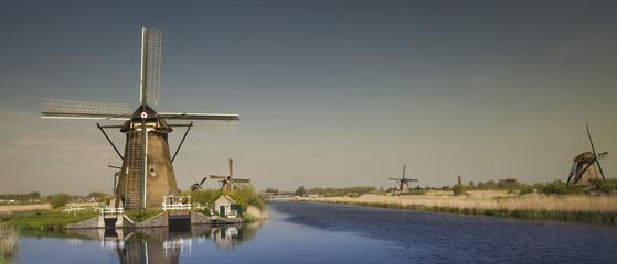 Windmill, Kinderdijk in netherlands