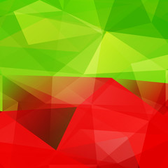 Abstract triangular mosaic background.