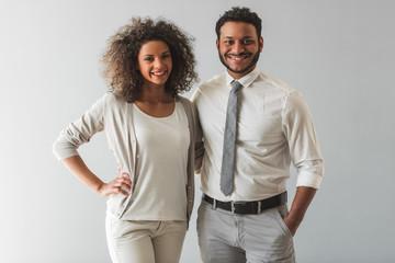 Beautiful Afro American couple