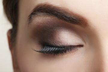 eye of the girl