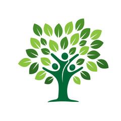 Logo Green Abstract Concept 8