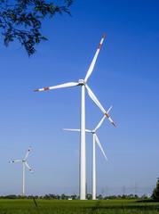 Windpark Parndorf, Austria, wind wheels, Burgenland, Northern Bu