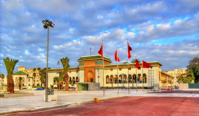 Palace of Justice on Mohammed V Square in Casablanca, Morocco