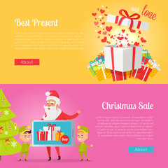 Poster of Best Presents with Love and Xmas Sale