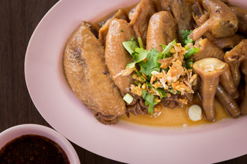 stewed chicken wings