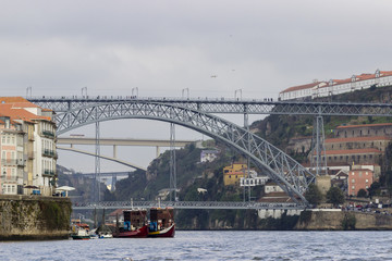Boat trip on Douro river, porto