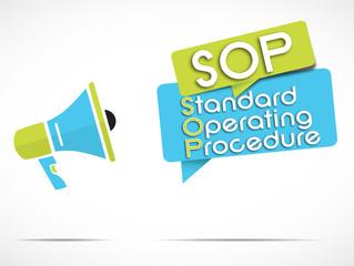 megaphone : SOP