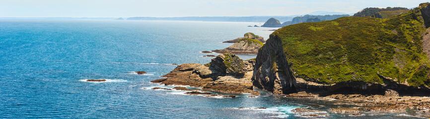 Cabo Vidio coastline (Asturias coast, Spain). Wall mural