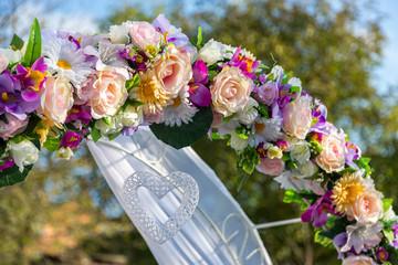 Decorations wedding ceremony. Wedding decoration receipts