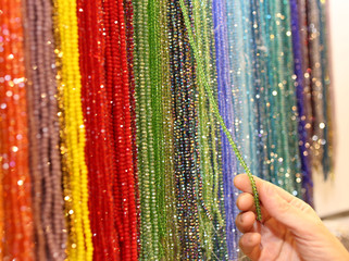 colorful in wholesale necklaces and a hand
