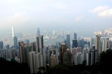 Honkong panorama view