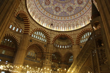 Dome, Selimiye Mosque, Edirne, Turkey