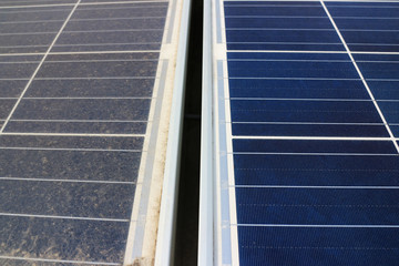 Dirty versus Clean Photovoltaic Panels