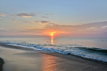Summertime Seashore Sunrise