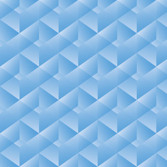 Geometric pattern with blue rectangles. Vector illustration