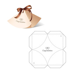 Retail Box with Die-cut Layout