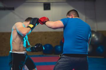 Mixed Martial Arts sparring