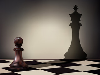 Pawn aspiration
