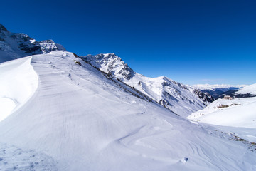 Winter moutain view I