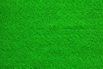 Green felt.