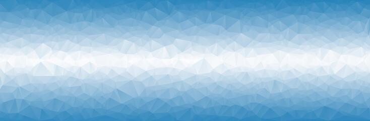 bue triangular background