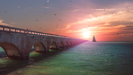 seven Miles Bridge Florida, Keys