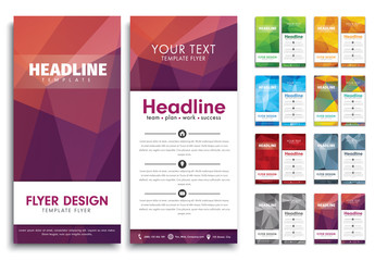 8 Slim-Sized Flyer Layouts