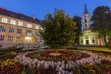 Fotomurales - Evangelical Church in Wisla, Poland