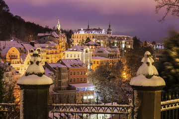 Winter in Karlovy Vary