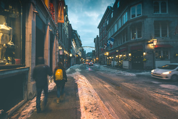 Beautiful Old Town - Montreal