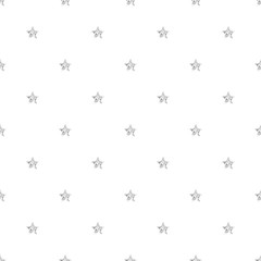 SEAMLESS SILVER STAR GLITTER PATTERN ON WHITE BACKGROUND